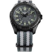Relojes & Joyas Hombre Relojes analógicos Traser H3 109037, Quartz, 44mm, 20ATM Negro