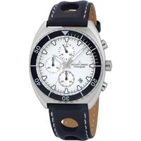 Relojes & Joyas Hombre Relojes analógicos Jacques Lemans 1-2041B, Quartz, 40mm, 10ATM Plata