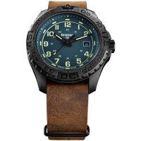 Relojes & Joyas Hombre Relojes analógicos Traser H3 109040, Quartz, 44mm, 20ATM Negro