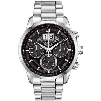 Relojes & Joyas Hombre Relojes analógicos Bulova 96B319, Quartz, 44mm, 3ATM Plata