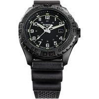 Relojes & Joyas Hombre Relojes analógicos Traser H3 108672, Quartz, 44mm, 20ATM Negro