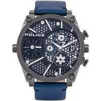 Relojes & Joyas Hombre Relojes analógicos Police PL15381JSU.61B, Quartz, 51mm, 3ATM Negro