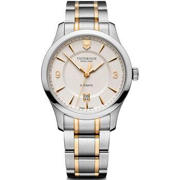 Relojes & Joyas Hombre Relojes analógicos Victorinox 241874, Automatic, 40mm, 10ATM Plata