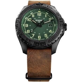 Relojes & Joyas Hombre Relojes analógicos Traser H3 109038, Quartz, 44mm, 20ATM Negro