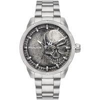 Relojes & Joyas Hombre Relojes analógicos Police PL15715JS.78M, Quartz, 46mm, 3ATM Plata