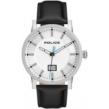 Relojes & Joyas Hombre Relojes analógicos Police PL15404JS.01, Quartz, 43mm, 5ATM Plata
