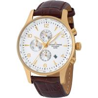 Relojes & Joyas Hombre Relojes analógicos Jacques Lemans 1-1844ZD, Quartz, 44mm, 10ATM Oro