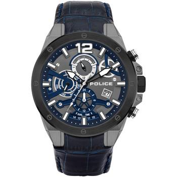 Relojes & Joyas Hombre Relojes analógicos Police PL15711JSUB.03, Quartz, 47mm, 3ATM Negro