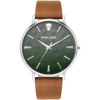 Relojes & Joyas Hombre Relojes analógicos Police PL16023JS.13, Quartz, 42mm, 5ATM Plata