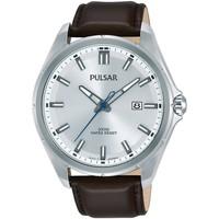 Relojes & Joyas Hombre Relojes analógicos Pulsar PS9553X1, Quartz, 44mm, 10ATM Plata