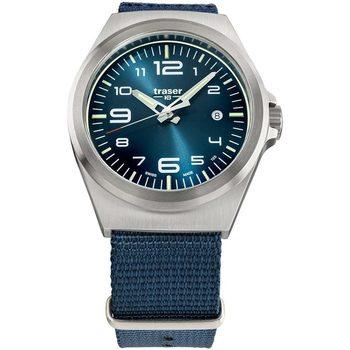 Relojes & Joyas Hombre Relojes analógicos Traser H3 108216, Quartz, 42mm, 10ATM Plata
