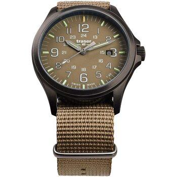 Relojes & Joyas Hombre Relojes analógicos Traser H3 108631, Quartz, 42mm, 10ATM Beige