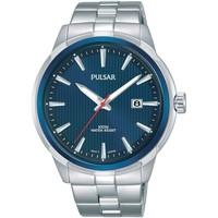 Relojes & Joyas Hombre Relojes analógicos Pulsar PS9583X1, Quartz, 43mm, 10ATM Plata