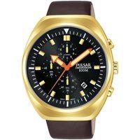 Relojes & Joyas Hombre Relojes analógicos Pulsar PM3094X1, Quartz, 44mm, 10ATM Oro