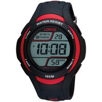 Relojes & Joyas Hombre Relojes digitales Lorus R2307EX9, Quartz, 46mm, 10ATM Negro