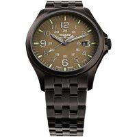 Relojes & Joyas Hombre Relojes analógicos Traser H3 108738, Quartz, 42mm, 10ATM Negro