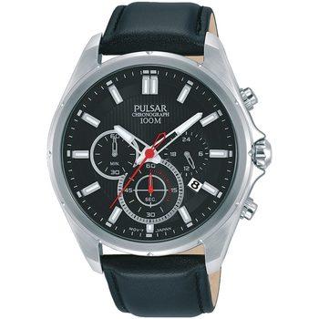 Relojes & Joyas Hombre Relojes analógicos Pulsar PT3907X1, Quartz, 44mm, 10ATM Plata