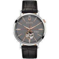 Relojes & Joyas Hombre Relojes analógicos Bulova 98A187, Automatic, 42mm, 3ATM Plata