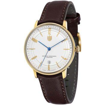 Relojes & Joyas Hombre Relojes analógicos Dufa DF-9016-03, Automatic, 40mm, 3ATM Oro