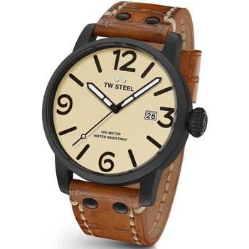 Relojes & Joyas Hombre Relojes analógicos Tw-Steel MS42, Quartz, 48mm, 10ATM Negro