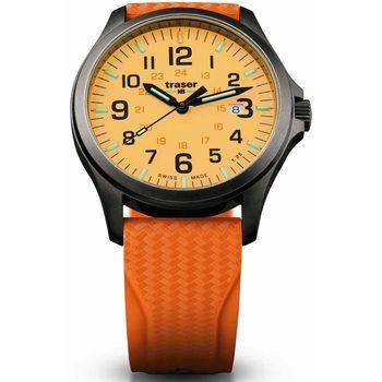 Relojes & Joyas Hombre Relojes analógicos Traser H3 107423, Quartz, 42mm, 10ATM Negro