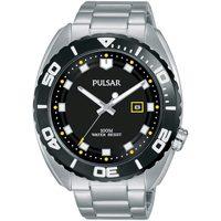 Relojes & Joyas Hombre Relojes analógicos Pulsar PG8283X1, Quartz, 45mm, 10ATM Plata