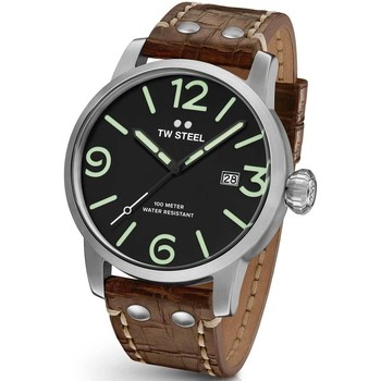 Relojes & Joyas Hombre Relojes analógicos Tw-Steel MS12, Quartz, 48mm, 10ATM Plata