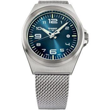 Relojes & Joyas Hombre Relojes analógicos Traser H3 108205, Quartz, 42mm, 10ATM Plata