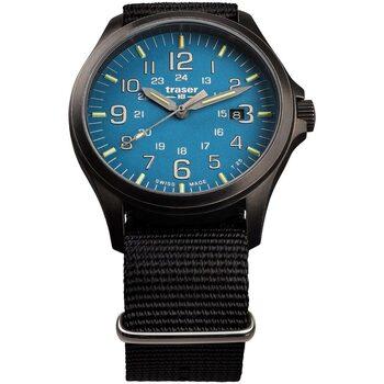 Relojes & Joyas Hombre Relojes analógicos Traser H3 108647, Quartz, 42mm, 10ATM Negro