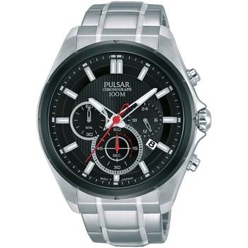 Relojes & Joyas Hombre Relojes analógicos Pulsar PT3901X1, Quartz, 44mm, 10ATM Plata