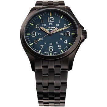 Relojes & Joyas Hombre Relojes analógicos Traser H3 108739, Quartz, 42mm, 10ATM Negro