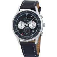 Relojes & Joyas Hombre Relojes analógicos Jacques Lemans 1-2068A, Quartz, 41mm, 5ATM Plata