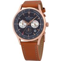 Relojes & Joyas Hombre Relojes analógicos Jacques Lemans 1-2068F, Quartz, 41mm, 5ATM Oro