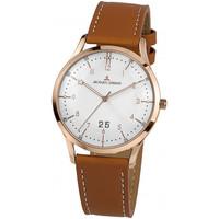 Relojes & Joyas Hombre Relojes analógicos Jacques Lemans 1-2066F, Quartz, 40mm, 5ATM Oro