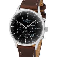Relojes & Joyas Hombre Relojes analógicos Jacques Lemans 1-2068M, Quartz, 41mm, 5ATM Plata