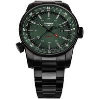 Relojes & Joyas Hombre Relojes analógicos Traser H3 109525, Quartz, 46mm, 10ATM Negro