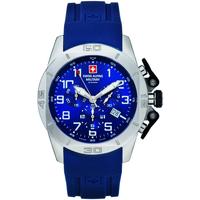 Relojes & Joyas Hombre Relojes analógicos Swiss Alpine Military 7063.9835, Quartz, 45mm, 10ATM Plata