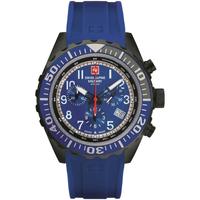 Relojes & Joyas Hombre Relojes analógicos Swiss Alpine Military 7076.9875, Quartz, 44mm, 10ATM Negro