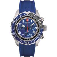 Relojes & Joyas Hombre Relojes analógicos Swiss Alpine Military 7076.9835, Quartz, 44mm, 10ATM Plata