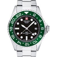 Relojes & Joyas Hombre Relojes analógicos Swiss Alpine Military 7052.1133, Quartz, 42mm, 10ATM Plata