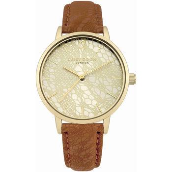 Relojes & Joyas Mujer Relojes analógicos Daisy Dixon DD079PRG, Quartz, 34mm, 3ATM Oro