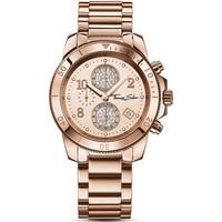 Relojes & Joyas Mujer Relojes analógicos Thomas Sabo WA0192-265-208, Quartz, 40mm, 10ATM Oro