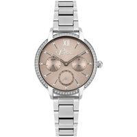 Relojes & Joyas Mujer Relojes analógicos Police PL16043BS.79M, Quartz, 34mm, 3ATM Plata