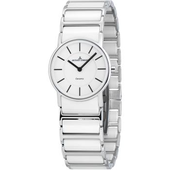 Relojes & Joyas Mujer Relojes analógicos Jacques Lemans 1-1649E, Quartz, 27mm, 5ATM Plata