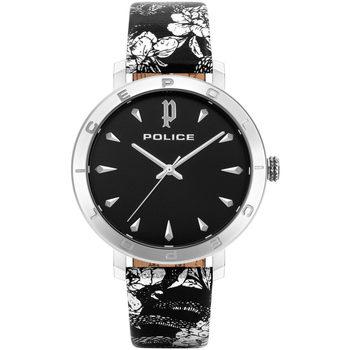 Relojes & Joyas Mujer Relojes analógicos Police PL16033MS.02, Quartz, 36mm, 3ATM Plata