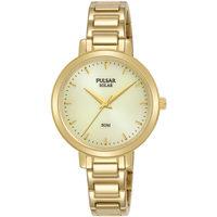 Relojes & Joyas Mujer Relojes analógicos Pulsar PY5074X1, Quartz, 31mm, 5ATM Oro