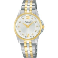 Relojes & Joyas Mujer Relojes analógicos Pulsar PM2165X1, Quartz, 30mm, 3ATM Oro