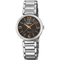 Relojes & Joyas Mujer Relojes analógicos Festina F20212/2, Quartz, 30mm, 5ATM Plata
