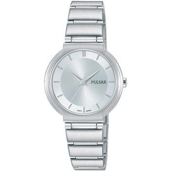 Relojes & Joyas Mujer Relojes analógicos Pulsar PH8325X1, Quartz, 28mm, 5ATM Plata