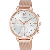 Relojes & Joyas Mujer Relojes analógicos Pulsar PT3944X1, Quartz, 36mm, 5ATM Oro